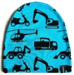 Barnmössa i fordonstyg