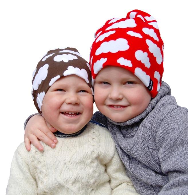 Barnmössor från Smultronbyn