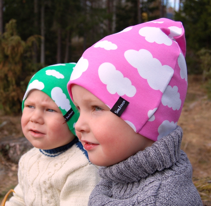 Smultronbarn barnmössor