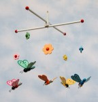 Babymobil, Fjärilar