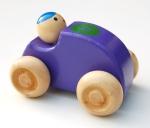 Racerbil i trä nr 6