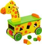 Åkleksak giraff