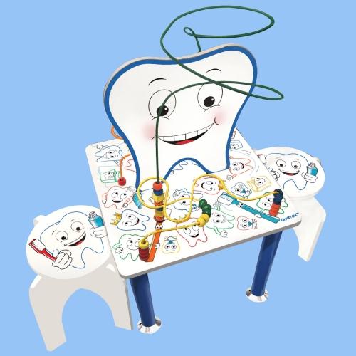 Aktivitetsbord tandläkare