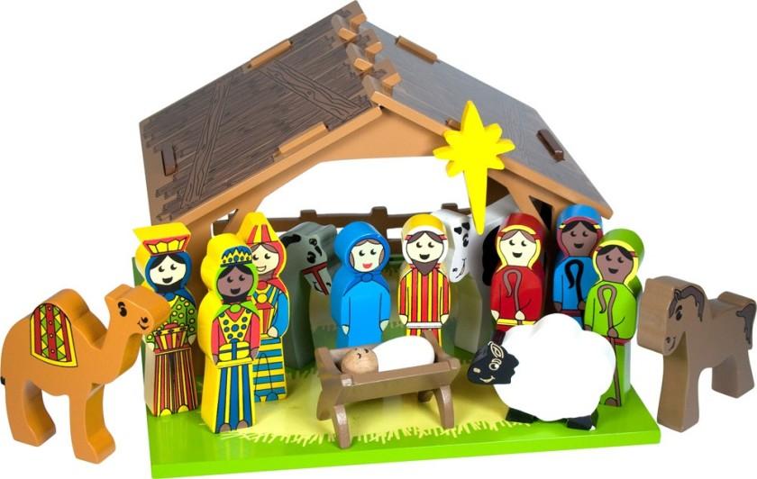 BJ352_-_Nativity_Set
