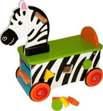 Åkleksak Zebra