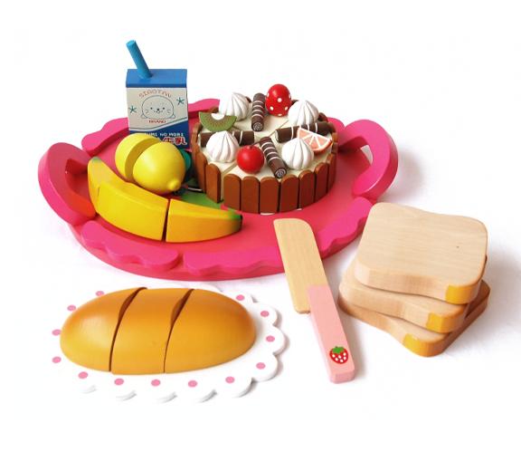 leksaker frukostbricka
