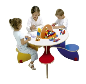 KF45 COV0 Play Table Pento Coulours children