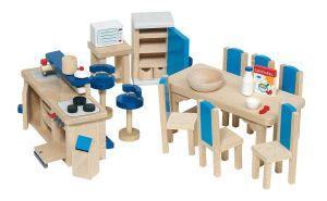 Köksmöbler goki blå