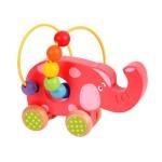 Elefant på hjul med kulram