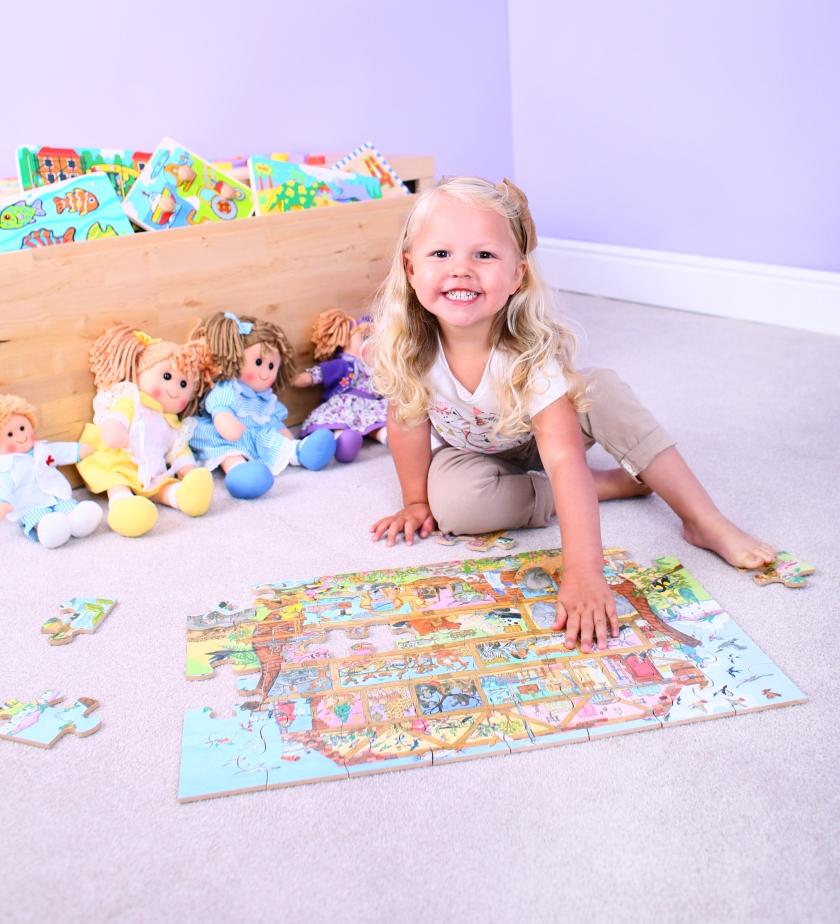 BJ014 - Noah's Ark Floor Puzzle - 2
