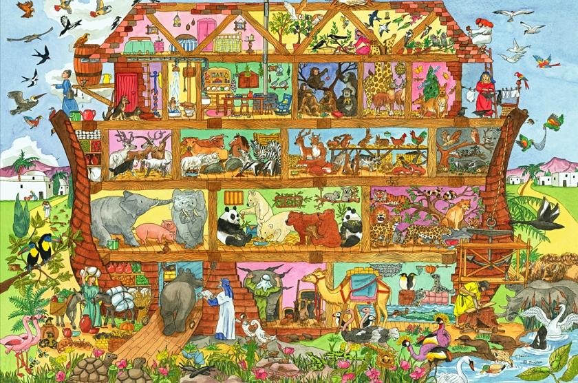 BJ014 - Noahs Ark Floor Puzzles