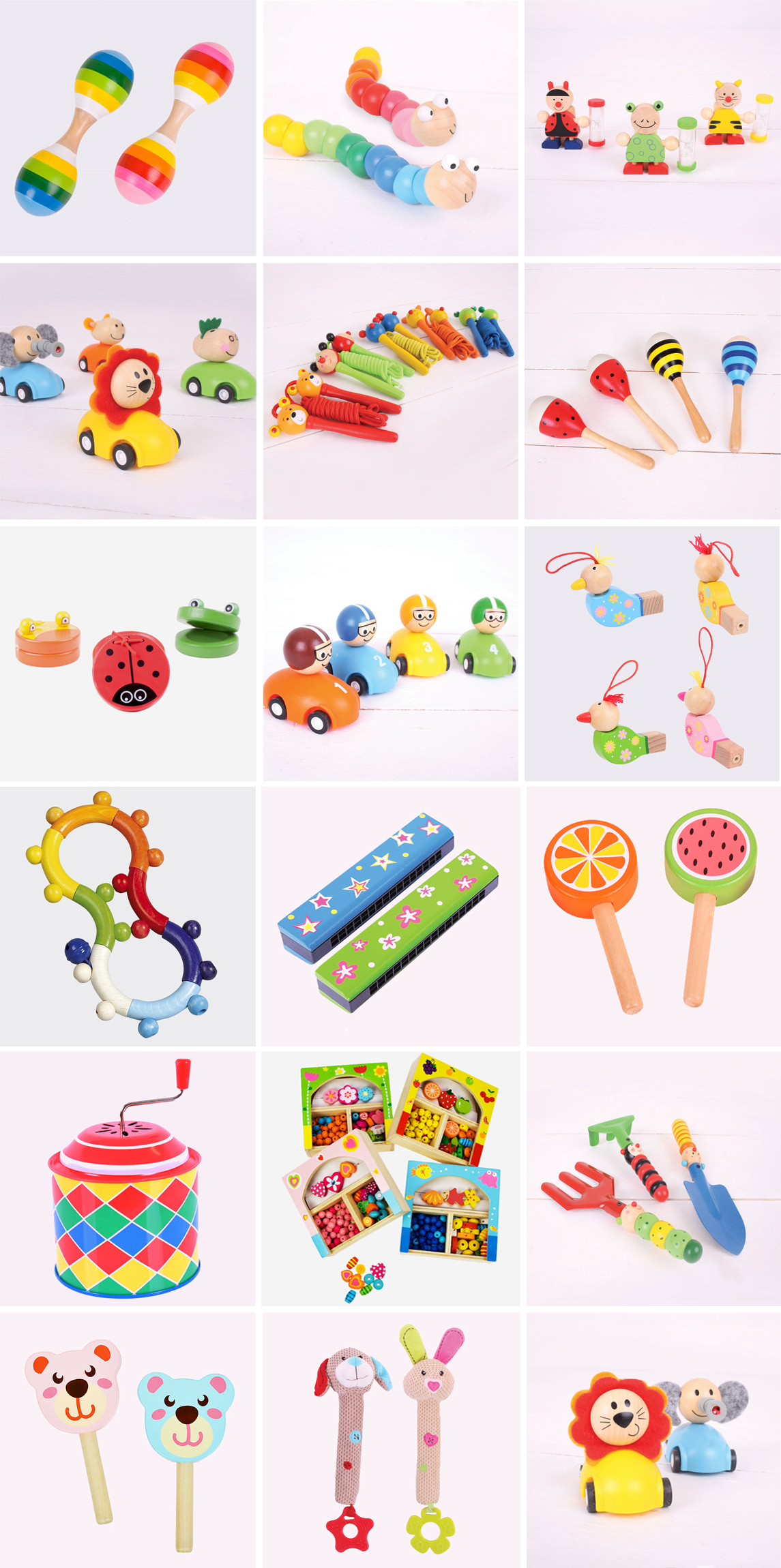 Små leksaker tillpresentkalender