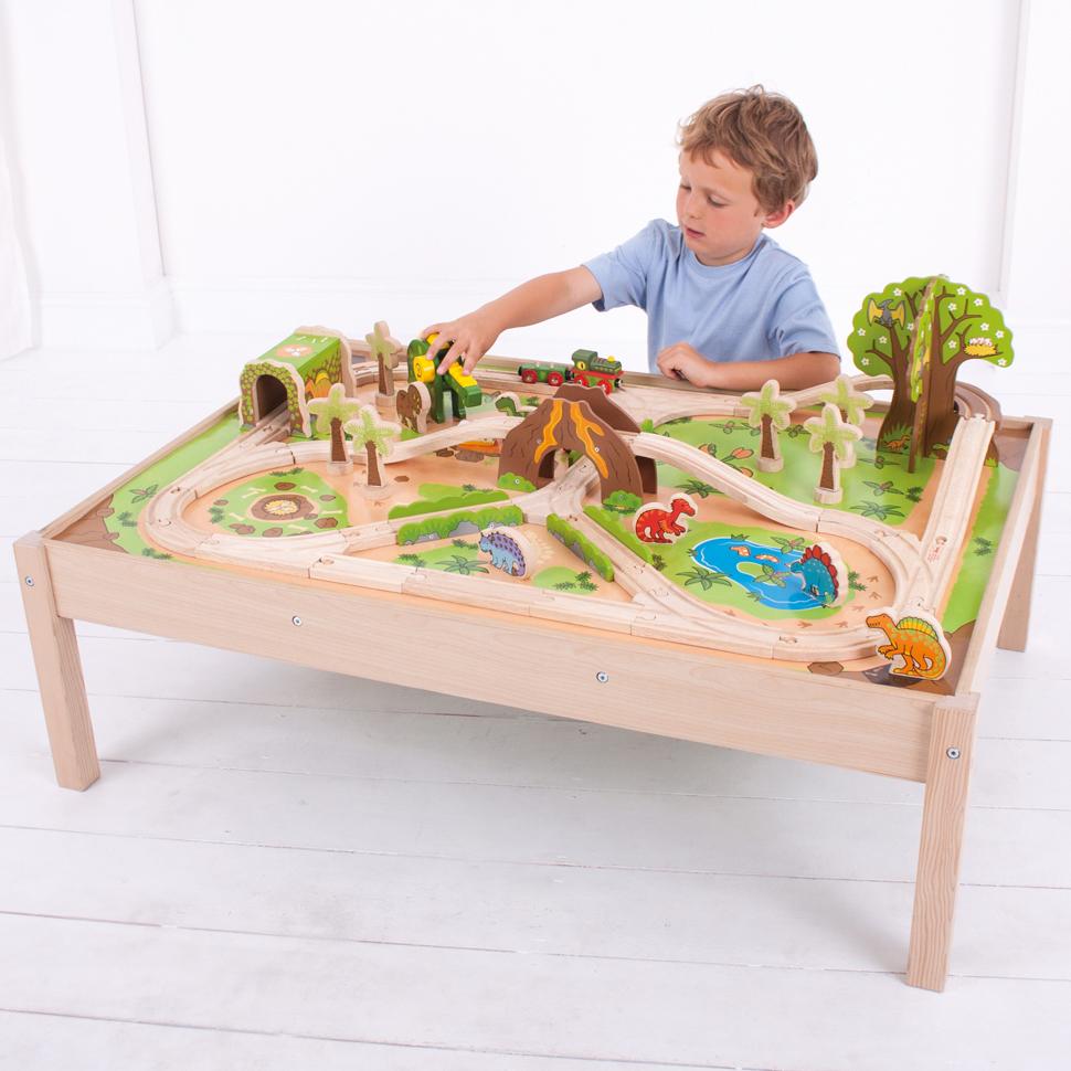 Tågbord och lekbord frånSmultronbyn