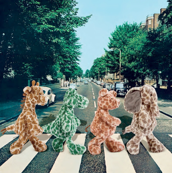Jellycat Dapple Animals - Abbey Road... :)