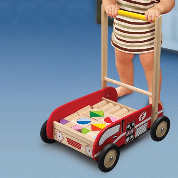 Lära-gå-vagnar till baby